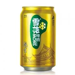 雪花啤酒 纯生 罐装 500ml